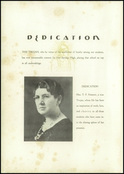 Page 10, 1936 Edition, Hot Springs High School - Old Gold Book Yearbook (Hot Springs, AR) online yearbook collection