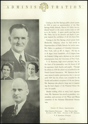 Page 14, 1936 Edition, Hot Springs High School - Old Gold Book Yearbook (Hot Springs, AR) online yearbook collection