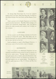 Page 15, 1936 Edition, Hot Springs High School - Old Gold Book Yearbook (Hot Springs, AR) online yearbook collection