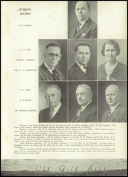 Page 15, 1937 Edition, Hot Springs High School - Old Gold Book Yearbook (Hot Springs, AR) online yearbook collection