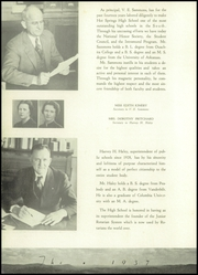 Page 16, 1937 Edition, Hot Springs High School - Old Gold Book Yearbook (Hot Springs, AR) online yearbook collection