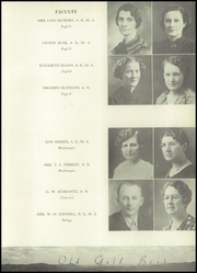 Page 17, 1937 Edition, Hot Springs High School - Old Gold Book Yearbook (Hot Springs, AR) online yearbook collection
