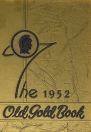 Page 1, 1952 Edition, Hot Springs High School - Old Gold Book Yearbook (Hot Springs, AR) online yearbook collection