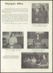 Page 17, 1952 Edition, Hot Springs High School - Old Gold Book Yearbook (Hot Springs, AR) online yearbook collection