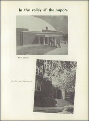 Page 9, 1952 Edition, Hot Springs High School - Old Gold Book Yearbook (Hot Springs, AR) online yearbook collection