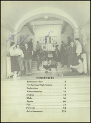 Page 12, 1953 Edition, Hot Springs High School - Old Gold Book Yearbook (Hot Springs, AR) online yearbook collection