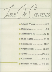 Page 9, 1959 Edition, Hot Springs High School - Old Gold Book Yearbook (Hot Springs, AR) online yearbook collection
