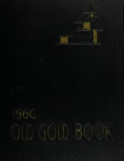Page 1, 1960 Edition, Hot Springs High School - Old Gold Book Yearbook (Hot Springs, AR) online yearbook collection
