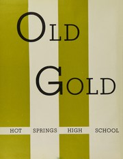 Page 6, 1960 Edition, Hot Springs High School - Old Gold Book Yearbook (Hot Springs, AR) online yearbook collection