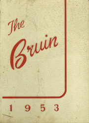 1953 Edition, Fort Smith Senior High School - Bruin Yearbook (Fort Smith, AR)
