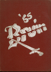 1955 Edition, Fort Smith Senior High School - Bruin Yearbook (Fort Smith, AR)