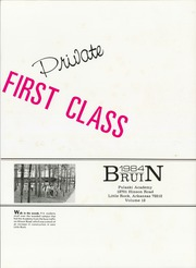 Page 5, 1984 Edition, Pulaski Academy - Bruin Yearbook (Little Rock, AR) online yearbook collection