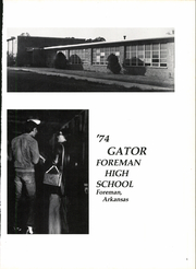 Page 5, 1974 Edition, Foreman High School - Gator Yearbook (Foreman, AR) online yearbook collection
