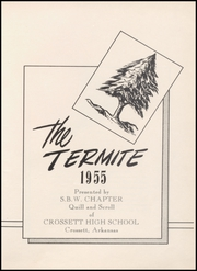 Page 5, 1955 Edition, Crossett High School - Termite Yearbook (Crossett, AR) online yearbook collection