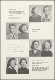 Page 14, 1954 Edition, Harrison High School - Golden Goblin Yearbook (Harrison, AR) online yearbook collection