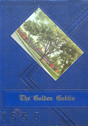 1958 Edition, Harrison High School - Golden Goblin Yearbook (Harrison, AR)