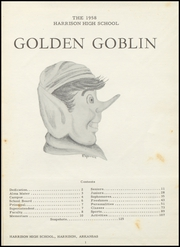 Page 5, 1958 Edition, Harrison High School - Golden Goblin Yearbook (Harrison, AR) online yearbook collection