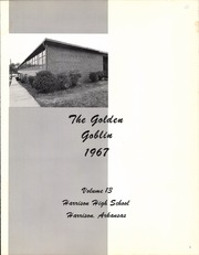 Page 5, 1967 Edition, Harrison High School - Golden Goblin Yearbook (Harrison, AR) online yearbook collection