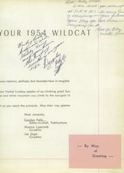 Page 9, 1954 Edition, North Little Rock High School - Wildcat Yearbook (North Little Rock, AR) online yearbook collection