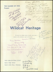 Page 5, 1955 Edition, North Little Rock High School - Wildcat Yearbook (North Little Rock, AR) online yearbook collection