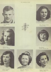 Page 11, 1948 Edition, Conway High School - Wampus Cat Yearbook (Conway, AR) online yearbook collection