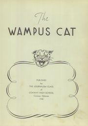 Page 7, 1948 Edition, Conway High School - Wampus Cat Yearbook (Conway, AR) online yearbook collection