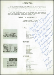 Page 8, 1960 Edition, Conway High School - Wampus Cat Yearbook (Conway, AR) online yearbook collection