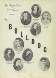 Page 7, 1947 Edition, Springdale High School - Bulldog Yearbook (Springdale, AR) online yearbook collection