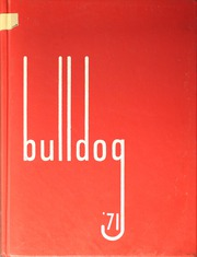 1971 Edition, Springdale High School - Bulldog Yearbook (Springdale, AR)