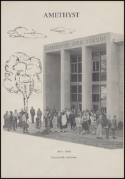 Page 7, 1954 Edition, Fayetteville High School - Amethyst Yearbook (Fayetteville, AR) online yearbook collection