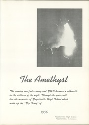 Page 7, 1956 Edition, Fayetteville High School - Amethyst Yearbook (Fayetteville, AR) online yearbook collection