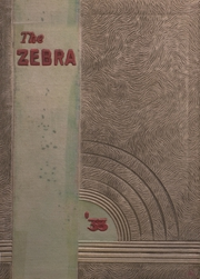 Pine Bluff High School - Zebra Yearbook (Pine Bluff, AR) online yearbook collection, 1933 Edition, Page 1