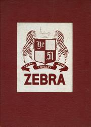 Pine Bluff High School - Zebra Yearbook (Pine Bluff, AR) online yearbook collection, 1951 Edition, Page 1