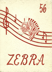 Pine Bluff High School - Zebra Yearbook (Pine Bluff, AR) online yearbook collection, 1956 Edition, Page 1