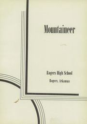 Page 5, 1952 Edition, Rogers High School - Mountaineer Yearbook (Rogers, AR) online yearbook collection