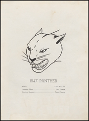 Page 11, 1947 Edition, Benton High School - Panther Yearbook (Benton, AR) online yearbook collection