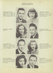 Page 17, 1948 Edition, Bentonville High School - Tiger Yearbook (Bentonville, AR) online yearbook collection