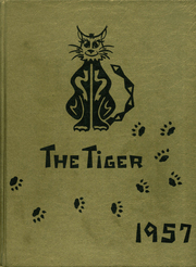 1957 Edition, Bentonville High School - Tiger Yearbook (Bentonville, AR)