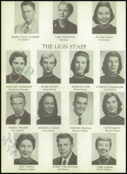 Page 14, 1957 Edition, Searcy High School - Lion Yearbook (Searcy, AR) online yearbook collection