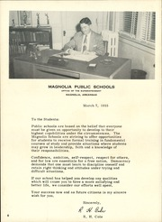 Page 12, 1955 Edition, Magnolia High School - Magnolian Yearbook (Magnolia, AR) online yearbook collection