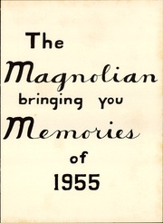 Page 7, 1955 Edition, Magnolia High School - Magnolian Yearbook (Magnolia, AR) online yearbook collection