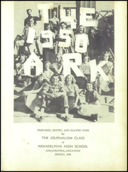 Page 5, 1950 Edition, Arkadelphia High School - Ark Yearbook (Arkadelphia, AR) online yearbook collection