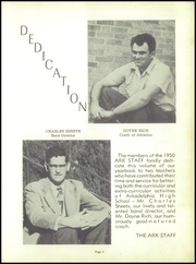 Page 9, 1950 Edition, Arkadelphia High School - Ark Yearbook (Arkadelphia, AR) online yearbook collection