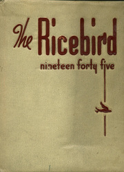1945 Edition, Stuttgart High School - Ricebird Yearbook (Stuttgart, AR)