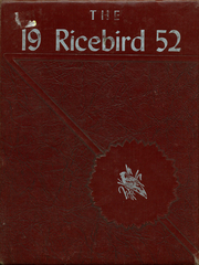 1952 Edition, Stuttgart High School - Ricebird Yearbook (Stuttgart, AR)