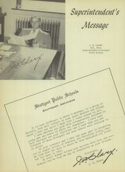 Page 12, 1952 Edition, Stuttgart High School - Ricebird Yearbook (Stuttgart, AR) online yearbook collection