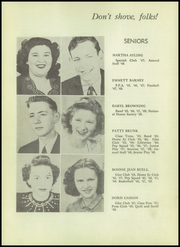 Page 16, 1948 Edition, Siloam Springs High School - Panther Yearbook (Siloam Springs, AR) online yearbook collection