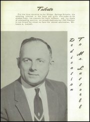 Page 8, 1960 Edition, Siloam Springs High School - Panther Yearbook (Siloam Springs, AR) online yearbook collection