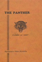 Page 1, 1937 Edition, Ashdown High School - Panther Eyes Yearbook (Ashdown, AL) online yearbook collection