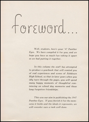 Page 5, 1947 Edition, Ashdown High School - Panther Eyes Yearbook (Ashdown, AL) online yearbook collection